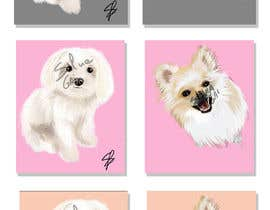 #28 for Dog portrait illustration by silviagai