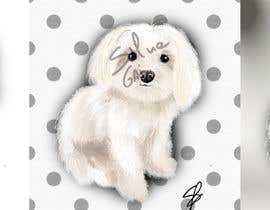 #29 for Dog portrait illustration by silviagai
