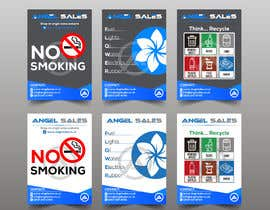 #73 for Leaflet/ Sticker Design af RABIN52