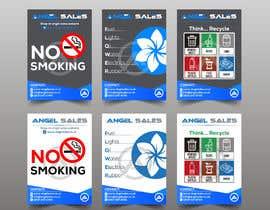 #73 for Leaflet/ Sticker Design by RABIN52
