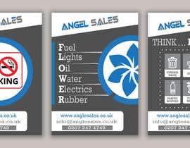 #45 for Leaflet/ Sticker Design af Almas999