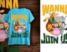 #22 for T-shirt Design Kids Zoo Germany af Jdrifat