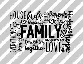 #112 for Create a family themed word cloud af jisan79