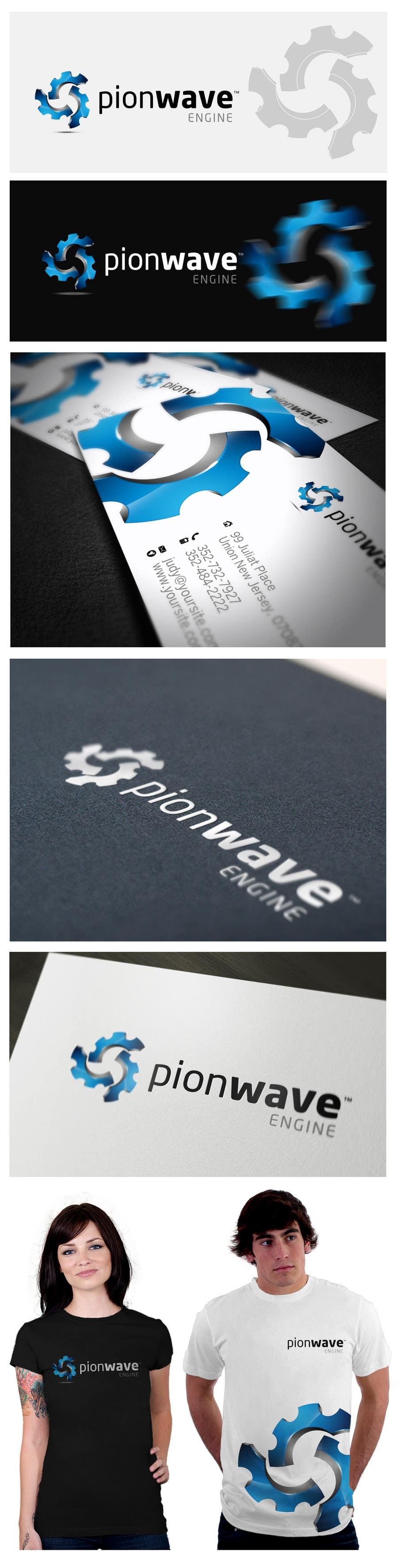 "#242 for Logo Design for ""PionWave Engine"" by maidenbrands"