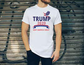 arifulhoque98 tarafından Trump 2020 Campaign T-shirt design için no 59
