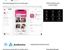 #5 untuk Research & Explain - mobile phone app oleh Adityarmurali