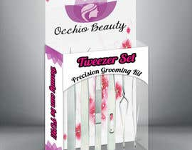 Nro 17 kilpailuun Create Print and Packaging Designs for Occhio Beauty - Tweezers Box käyttäjältä moiraleigh19
