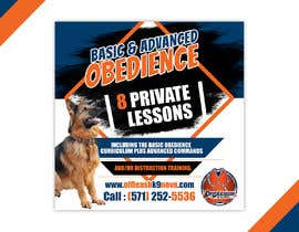 #73 cho High Quality Ads for Dog Training Business bởi VVICK