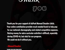 """#95 for """"Thank You"""" card layout & design (comprehensive input provided) by abhrohimu"""