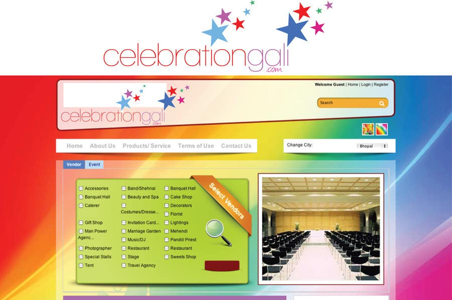 Bài tham dự cuộc thi #                                        12                                      cho                                         Logo Design for a new Web Portal