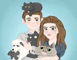 #14 for Illustrated Family Portrait by maumaureen