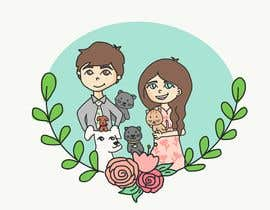 #26 for Illustrated Family Portrait by DoodlesByAishu