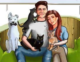 #38 for Illustrated Family Portrait by Zuxxart
