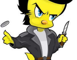 #13 cho Design a Mean Tweety Bird bởi OragamiArtwork