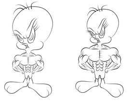 nº 4 pour Design a Mean Tweety Bird par celmaicosmin