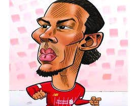 #253 for Funny Football Player Caricature by raselmahmud7872