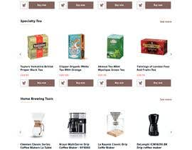 #61 cho landing page design for a coffee and tea online store bởi directbydimas