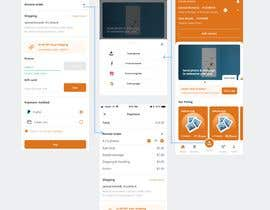 #69 для Design pages in an app using using wireframe as a guide от directbydimas