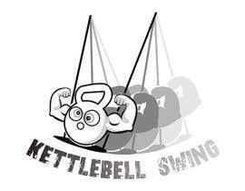 LiviuGLA93 tarafından Design a T-Shirt for KettleBell swing için no 8