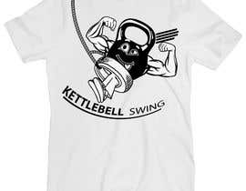 #16 for Design a T-Shirt for KettleBell swing by diptobiswasiu