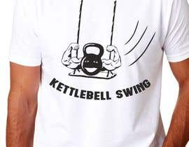 #18 for Design a T-Shirt for KettleBell swing by adstyling