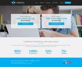 Flat web mockup design için Website Design15 No.lu Yarışma Girdisi