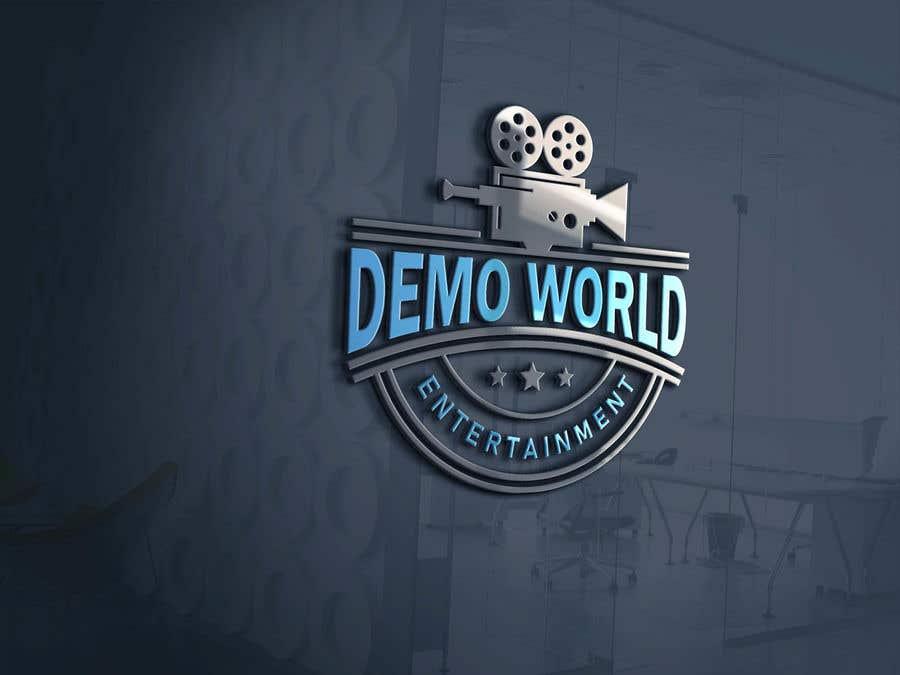 Penyertaan Peraduan #                                        60                                      untuk                                         demo world entertainment logo design