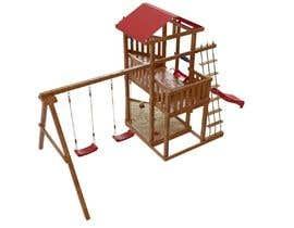 nº 14 pour Design a child's outdoor play construction from wood par ARTandFASHION