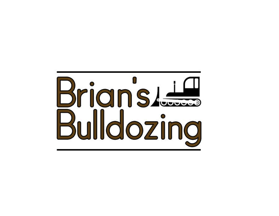 Contest Entry #25 for Logo Design for Bulldozing/Construction Company
