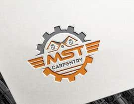 Rajmonty tarafından Logo design - MST CARPENTRY için no 58