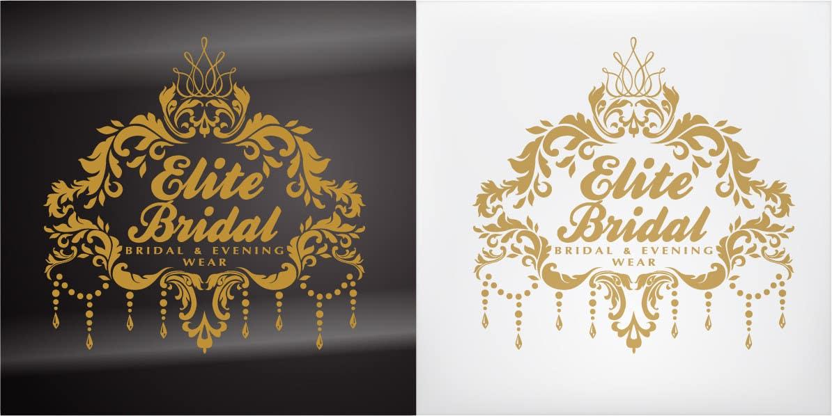 """Kilpailutyö #83 kilpailussa Logo design for a bridal boutique called """"Elite Bridal"""""""