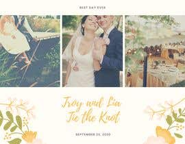 #46 for Design template for wedding solution by kayps1