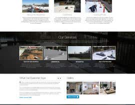 #15 cho Website design for Roofing company bởi nikil02an