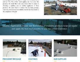 #20 pentru Website design for Roofing company de către sqhrizvi110