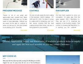 #21 pentru Website design for Roofing company de către sqhrizvi110