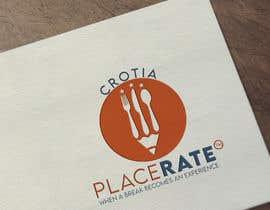 Nro 78 kilpailuun Create a logo for a blog with restaurant & bar reviews - PLACERATE käyttäjältä shadmanmirza503