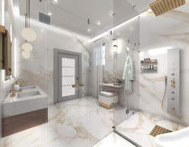 Nro 71 kilpailuun Master bathroom design käyttäjältä koremit