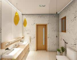 #17 para Master bathroom design por Nafis23