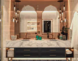 #80 para Master bathroom design por BasmaKhaled5