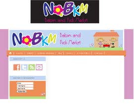 #36 para Logo Design for NQBKM por dirak696
