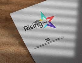 #7 para Logo Design Rising Star de guradesign0