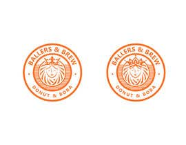 nº 879 pour Logo for a Donut and Boba shop par Sumera313