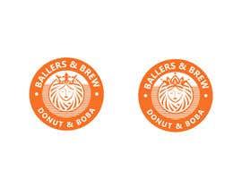 nº 880 pour Logo for a Donut and Boba shop par Sumera313