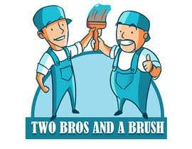 #62 для Logo for Two Bros And A Brush от johnchhana