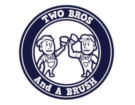 #63 для Logo for Two Bros And A Brush от mostafashedeed
