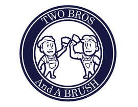 #65 для Logo for Two Bros And A Brush от mostafashedeed