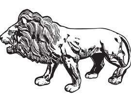 #26 für 2 x Vectorzeichnugen eines Löwen nach Vorgabe von veranika2100