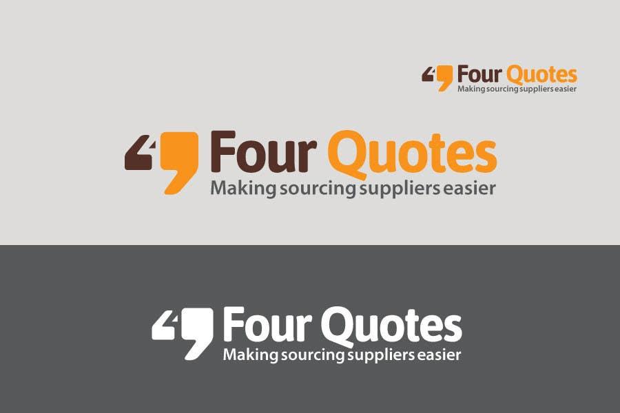 Konkurrenceindlæg #4 for Logo Design for FourQuotes