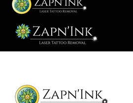 #63 for Design a Logo for Zapn'Ink Laser Tattoo Removal by jasonsmith73