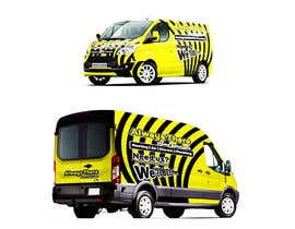 #63 for Vehicle Wrap Design for HVAC company af Rizwandesign7
